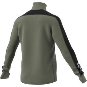 adidas Warm LS 1/2 Zip Shirt Men, legacy green